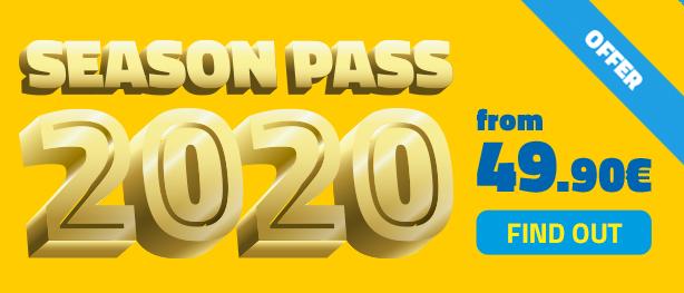 2020 Seaon Pass - Mirabilandia