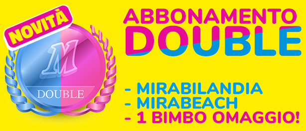Mirabilandia - Abbonamento DOUBLE