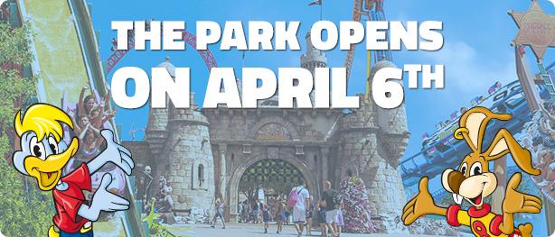Mirabilandia opening: April 6th