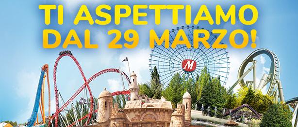 Ti aspettiamo dal 29 marzo!