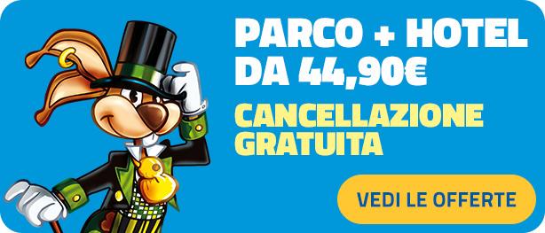 Mirabilandia - Coupon Regalo Parco+Hotel 2021