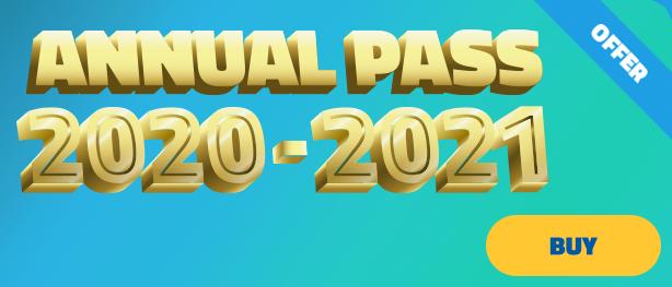 Mirabilandia - 2020-2021 Season Passes