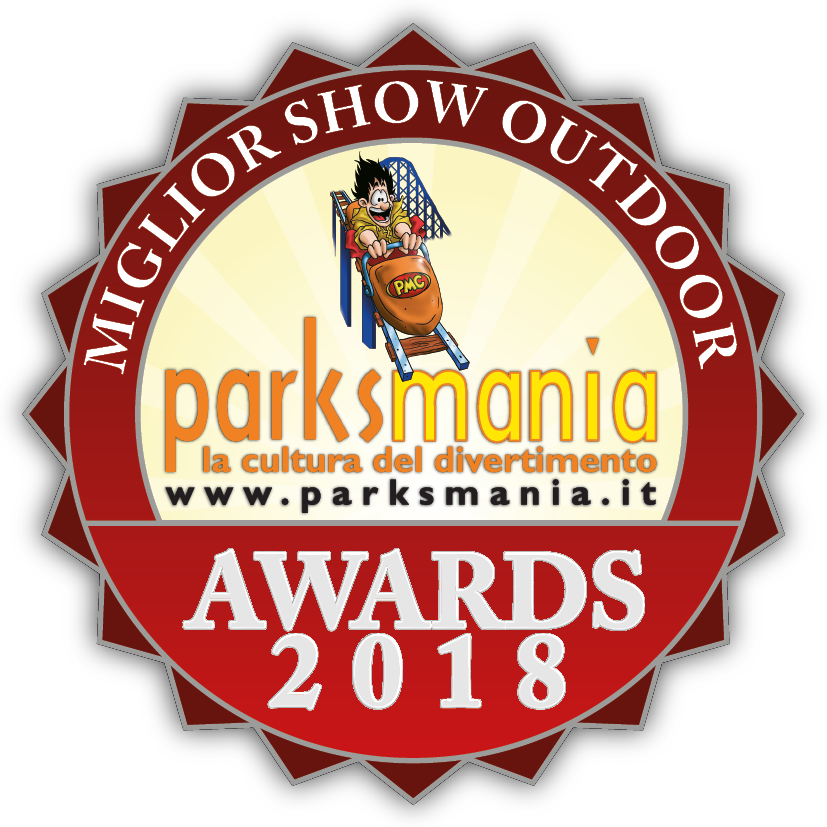 Parksmania 2018 award - Mirabilandia Night show