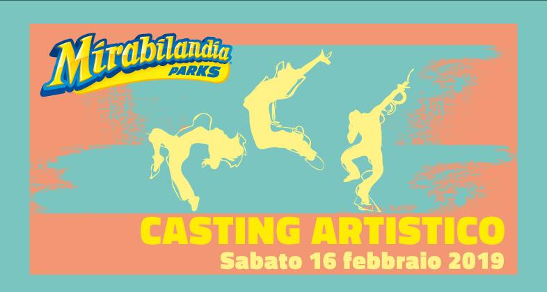 Casting Artistico 2019 Mirabilandia